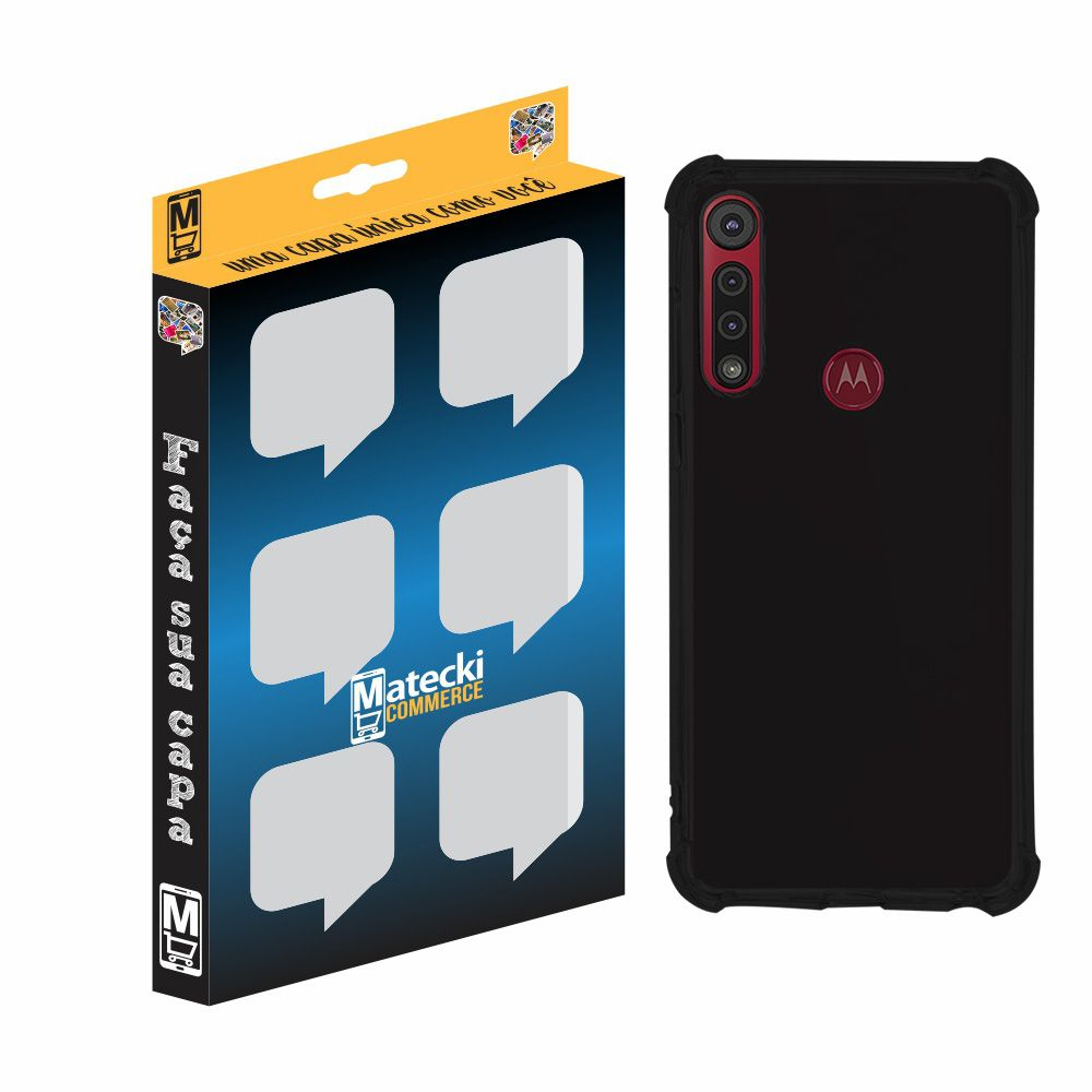 Capa TPU Anti-Impacto Grafite Motorola Moto G8 Play XT2015