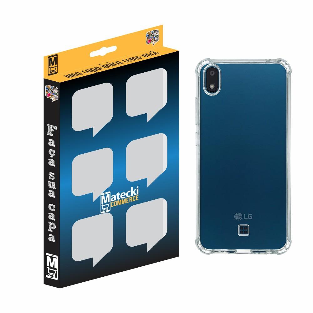 Capa TPU Anti-Impacto LG K8+ MX120 - Transparente