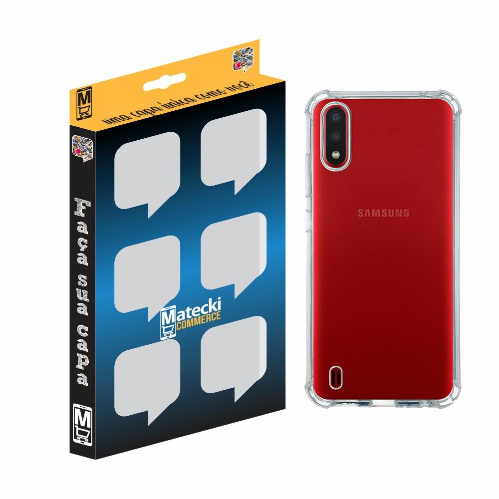 Capa TPU Anti-Impacto Samsung Galaxy A01 A015 - Transparente