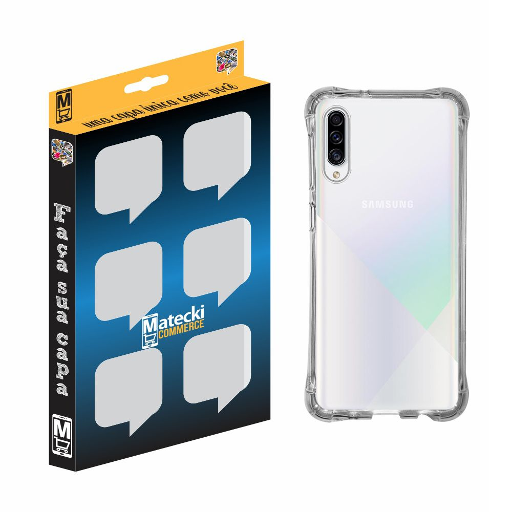 Capa TPU Anti-Impacto Samsung Galaxy A30S A307 - Transparente