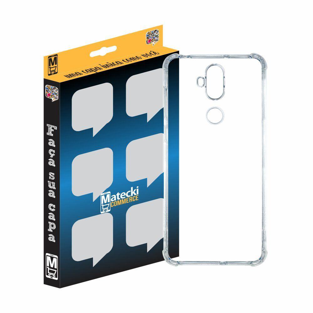 Capa TPU Anti-Impacto Transparente Asus Zenfone 5 Selfie ZC600KL
