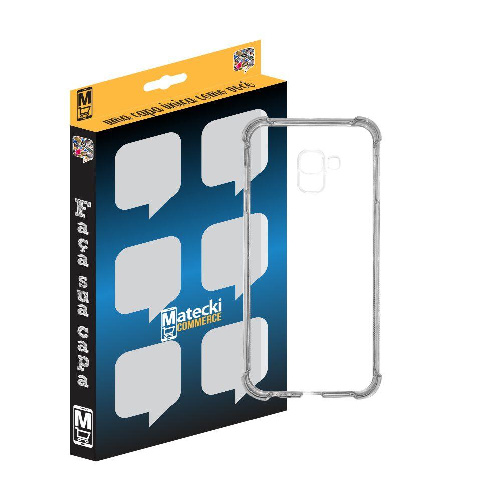 Capa TPU Anti-Impacto Transparente para Samsung Galaxy J4 Core SM-J410F