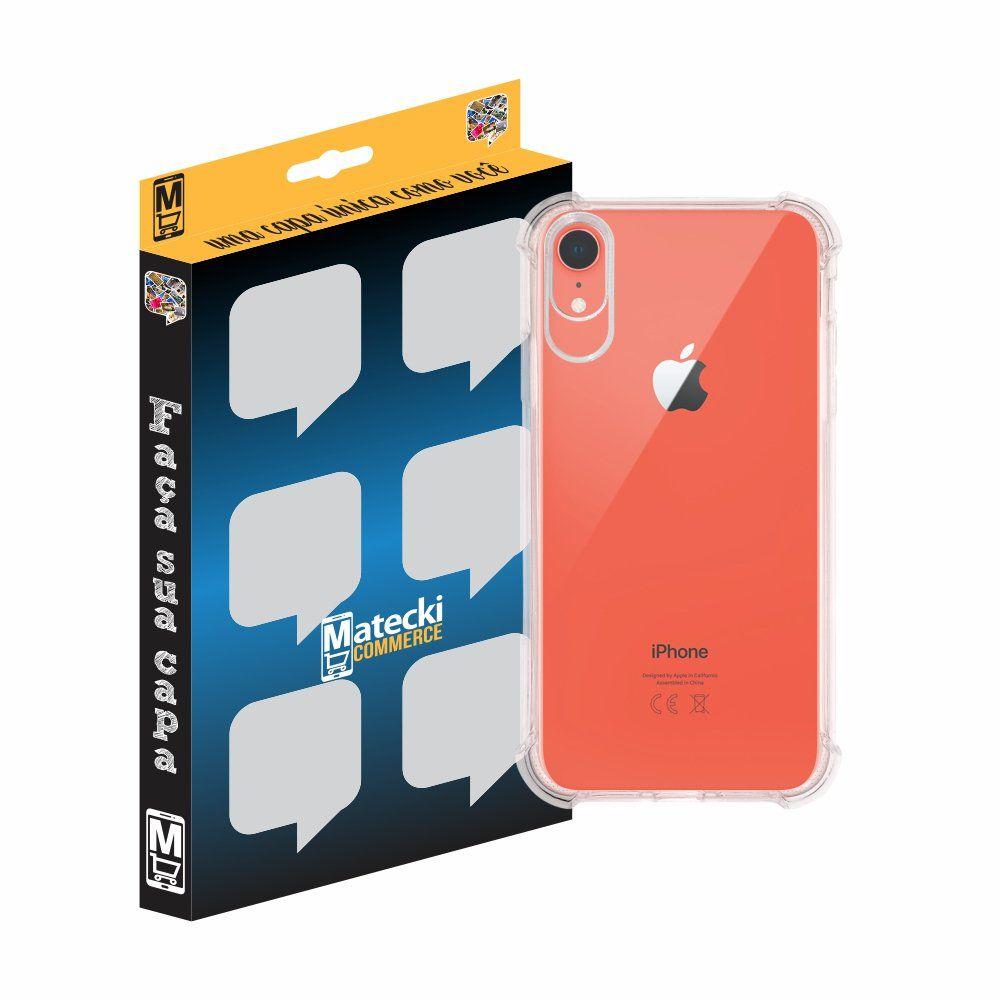Capa TPU Transparente Anti-Impacto para Apple iPhone XR