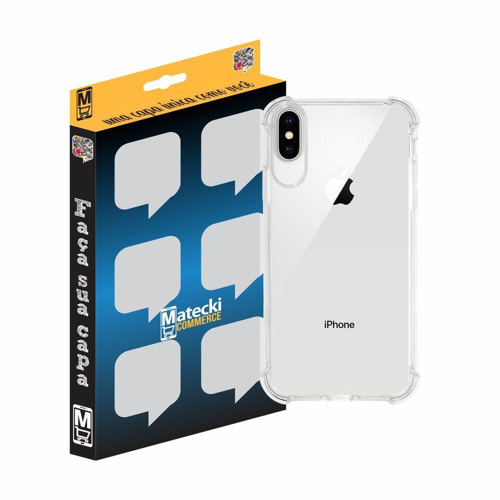 Capa TPU Transparente Anti-Impacto para Apple iPhone XS Max