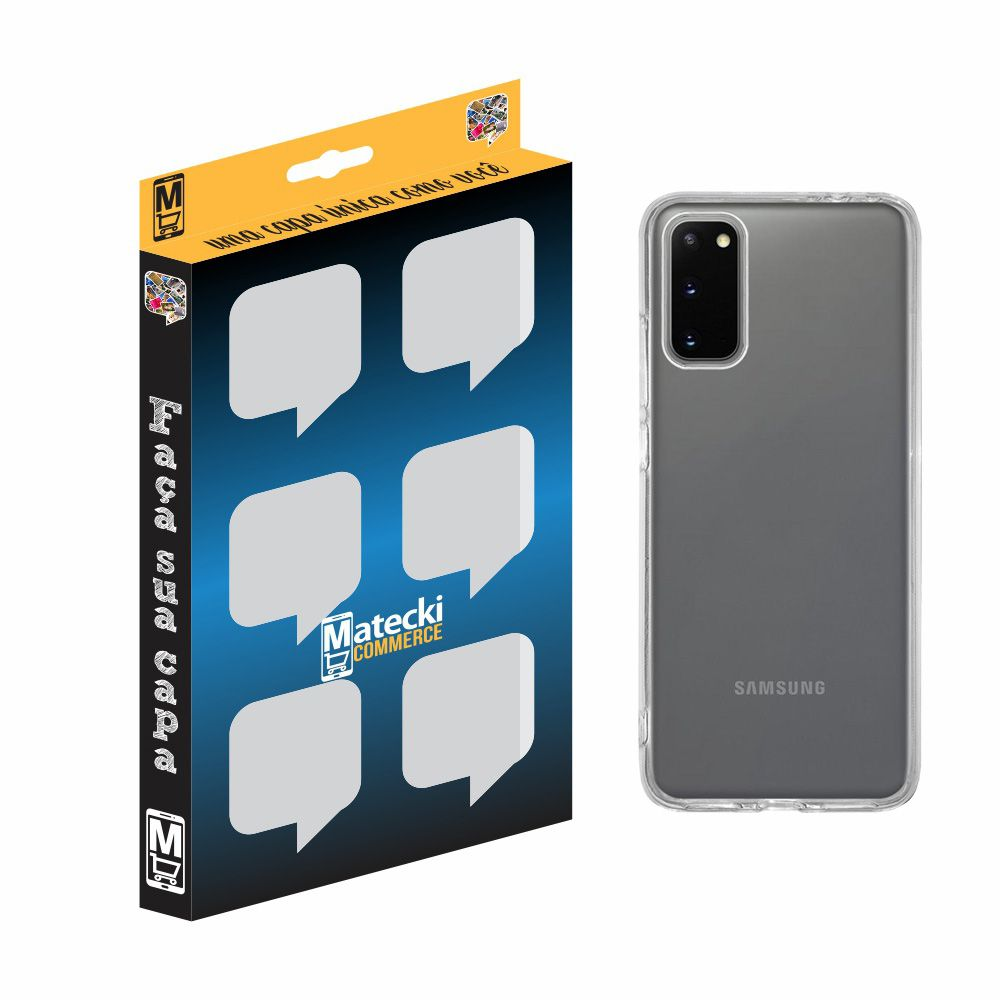 Capa TPU Transparente Samsung Galaxy S20 G980
