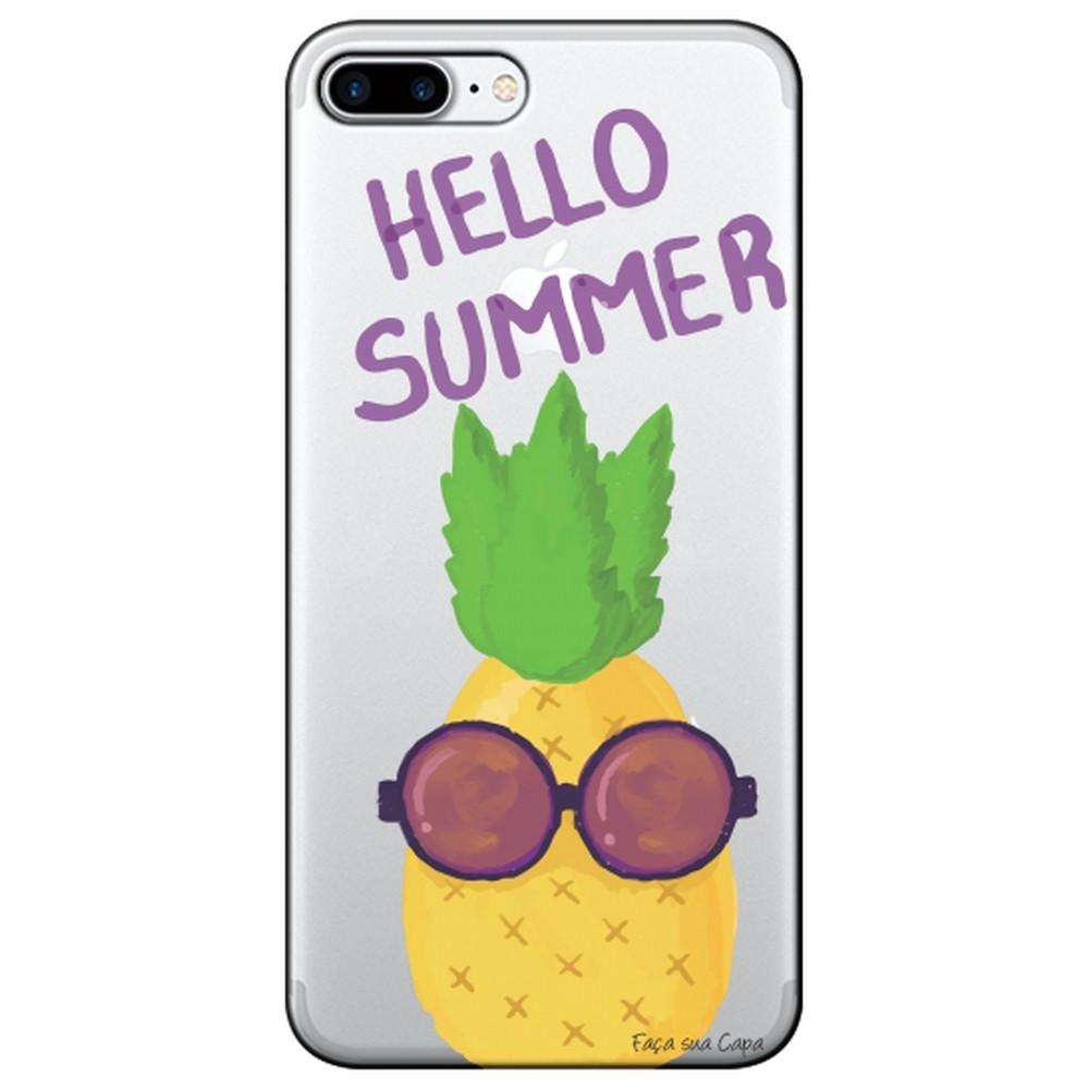 Capa Personalizada para Apple iPhone 8 Plus  - Hello Summer - TP322