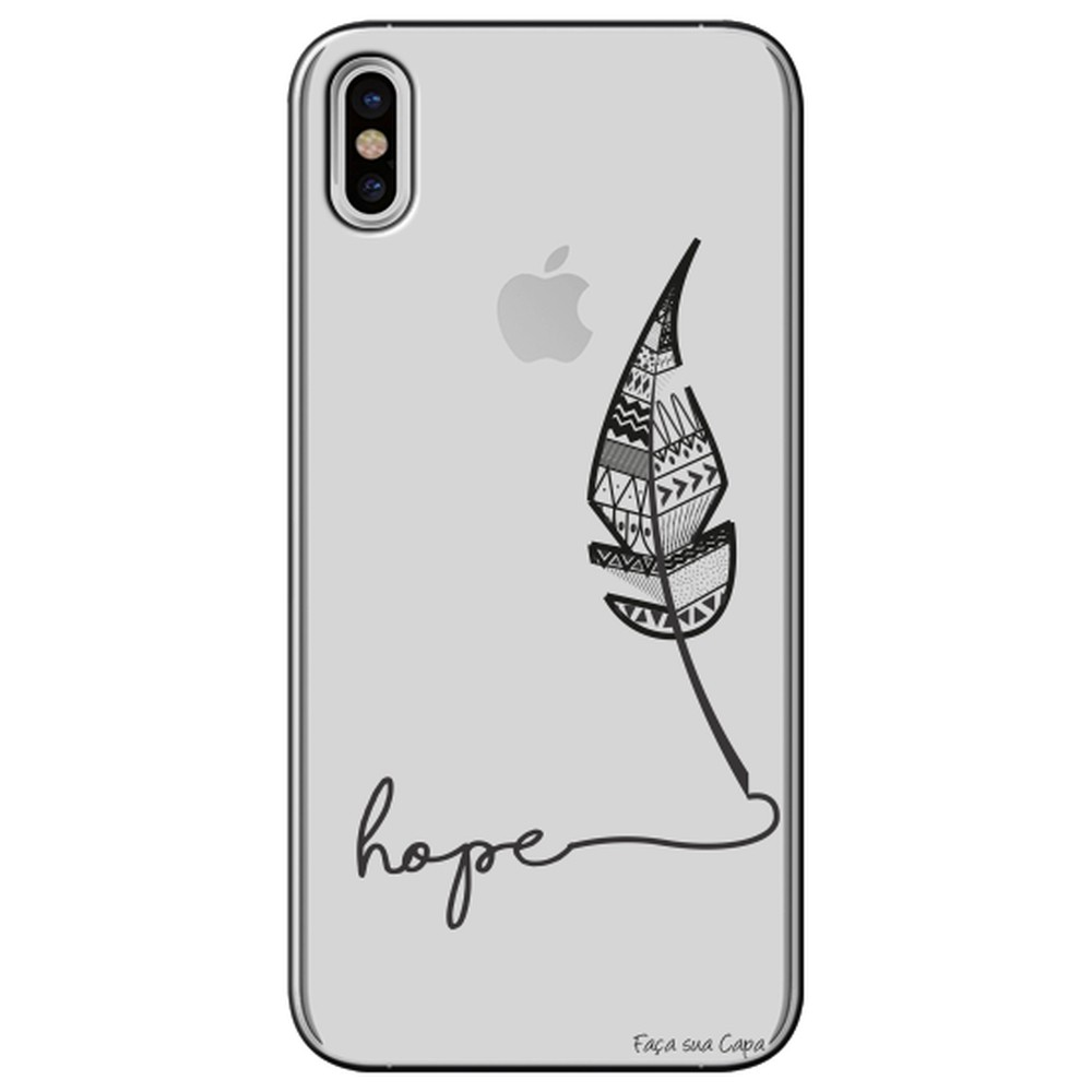 Capa Personalizada para Apple iPhone X - Hope - TP271