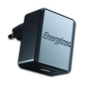 Carregador De Tomada Original Energizer 2 Saídas USB - Preto