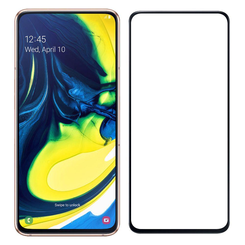 Película Flexível 5D Samsung Galaxy A80 A805 - Preta