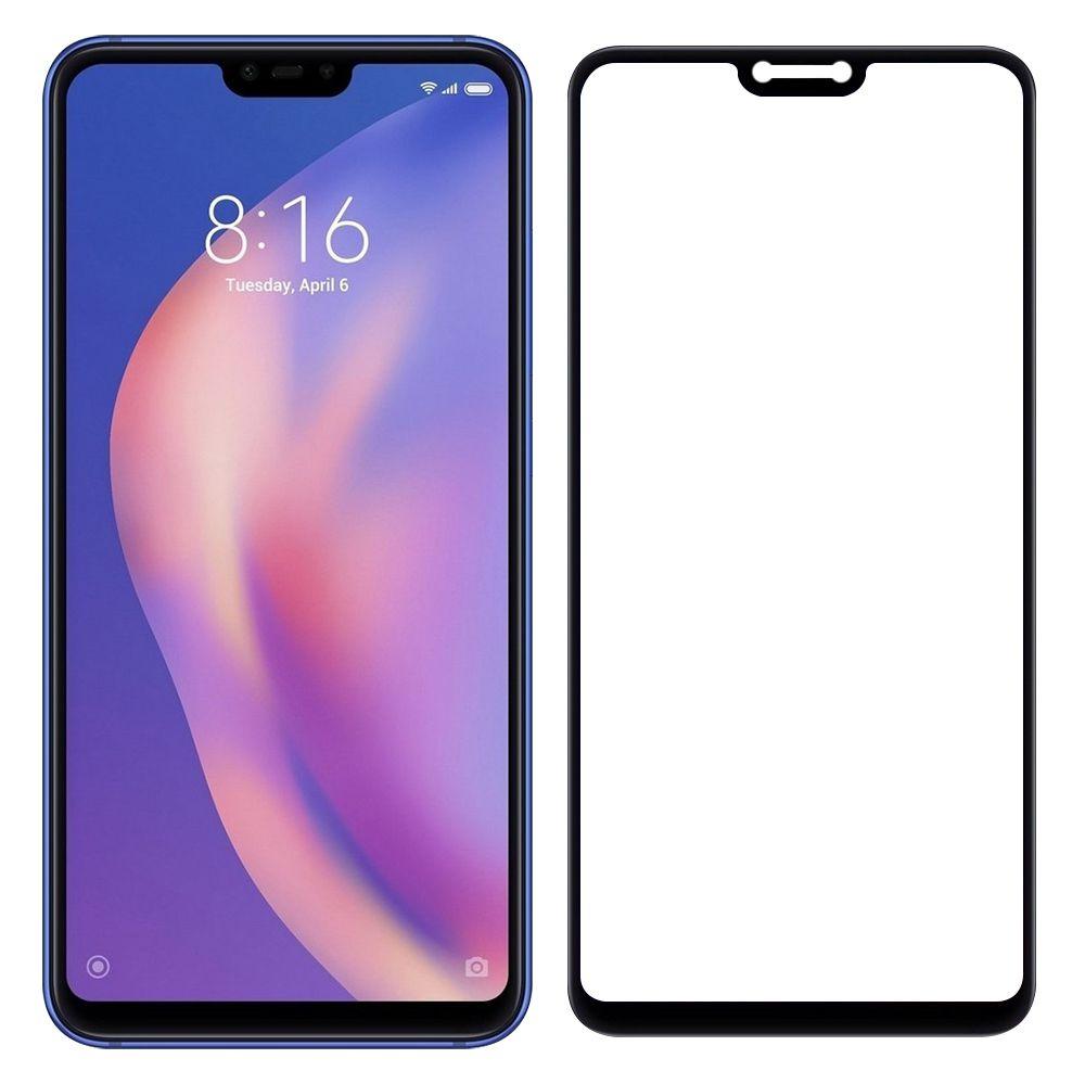 Película Flexível 5D Xiaomi Mi 8 Lite - Preta