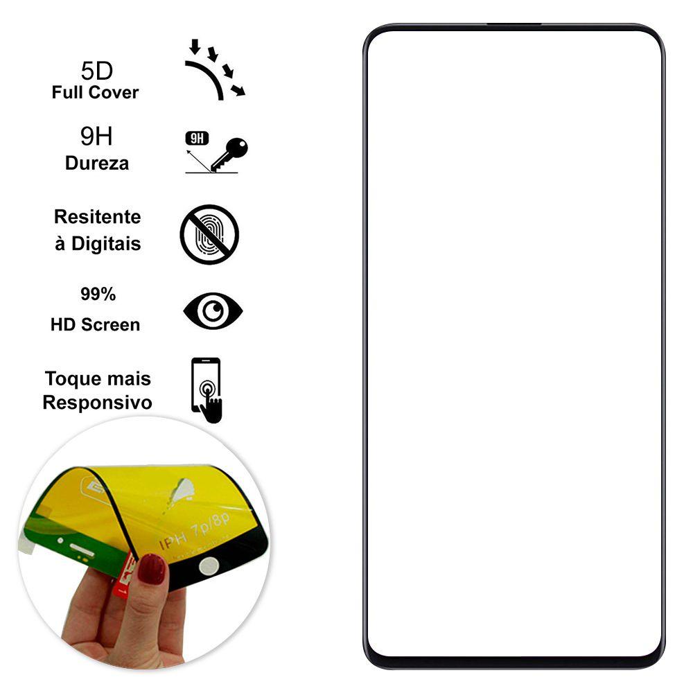 Película Flexível 5D Xiaomi Redmi K20 Pro - Preta