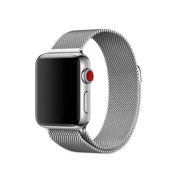 5fb9bd1c347 Pulseira Milanese para Apple Watch 42MM - Prata - Matecki Commerce ...