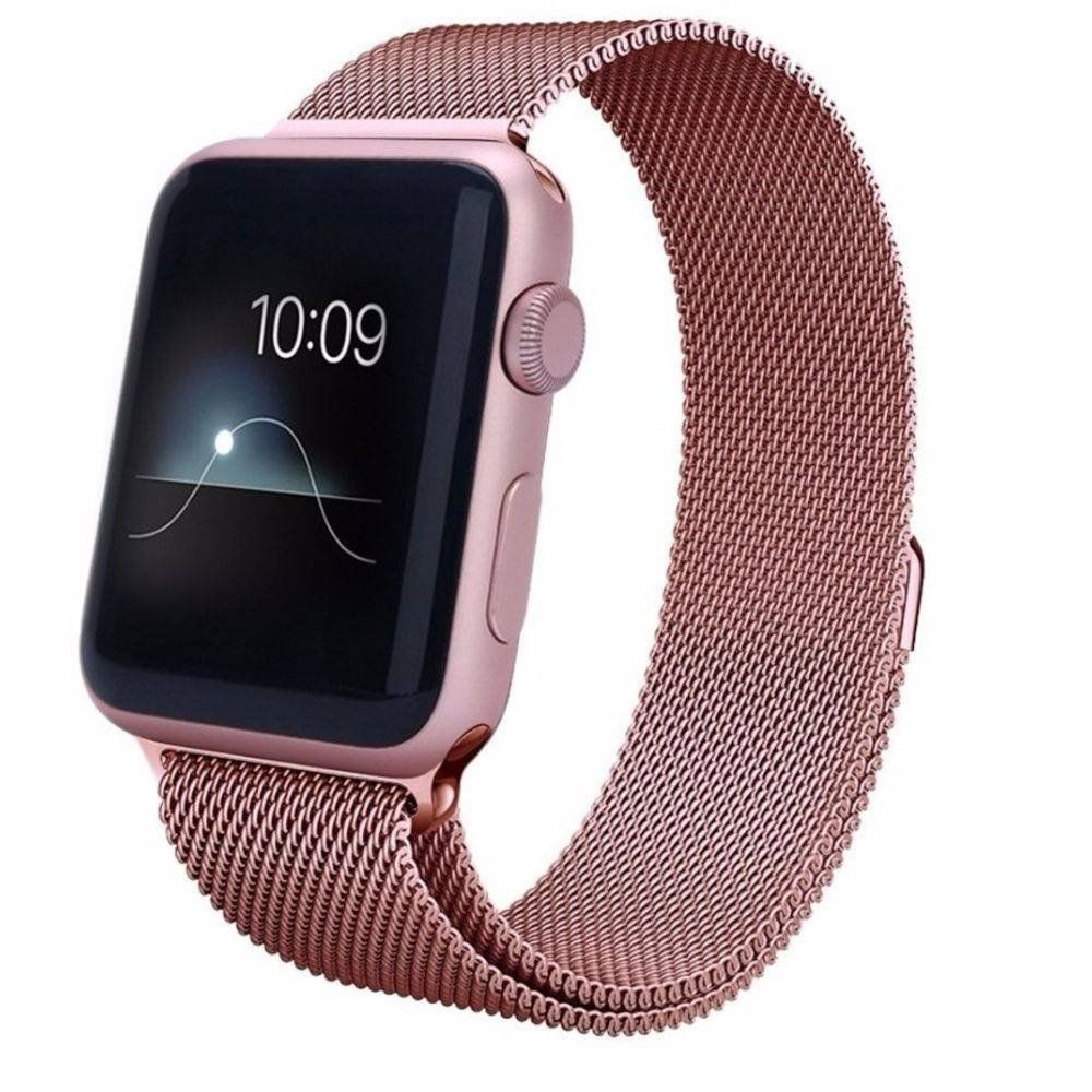 Pulseira Milanese para Apple Watch 42MM - Rosa