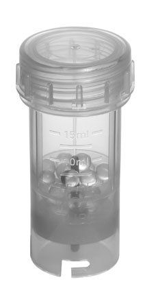 Tubo com esferas em vidro para moer BMT-20G