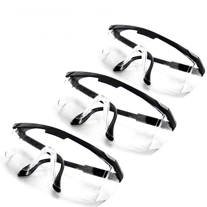 Compre 3 Óculos de Segurança Modelo RIO JANEIRO