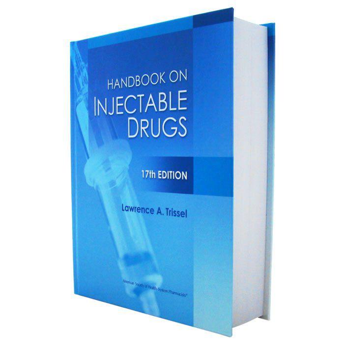 Livro - Handbook on Injectable Drugs 2013 17ª Edição