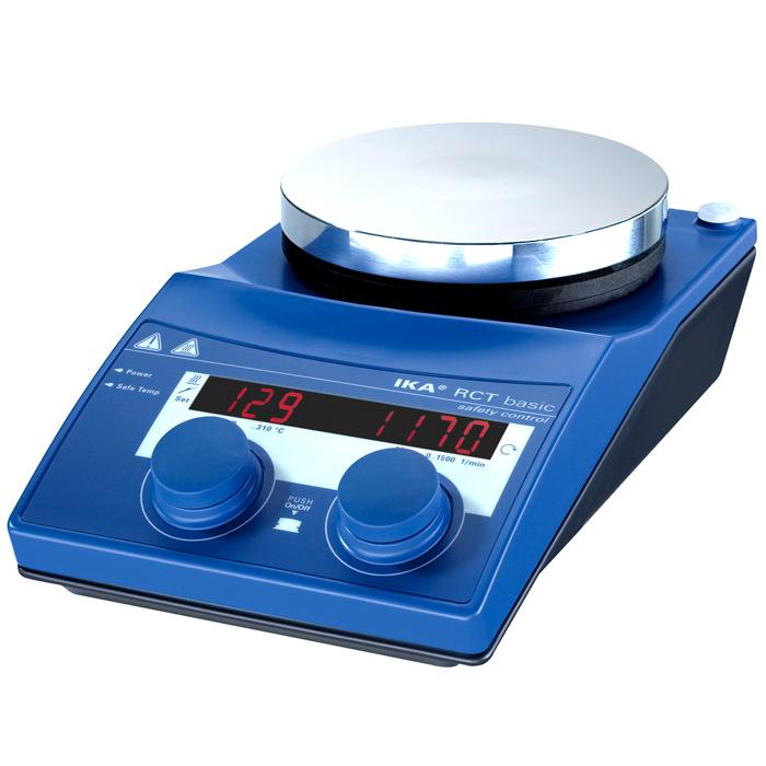Agitador Magnético com Aquecimento Digital RCT BASIC 230V