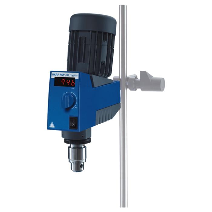 Agitador Mecânico Digital 20L RW20.N 230V