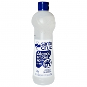 Álcool Etílico 70% (62,4 INPM) em Gel Antisséptico 500g Santa Cruz