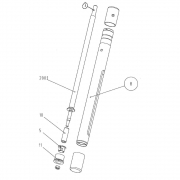 Bucha de Teflon para Elemento Dispersor S50N Ref. 1889800