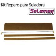 Kit Reparo (Resistência + Teflon) para Seladora Mini Plus 200 - 20cm (MODELO ANTIGO)