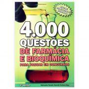 Livro - 4000 Questões de Farmácia e Bioquímica: Para Passar em Concursos 3ª Edição