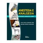 Livro - Anestesia e Analgesia em Equídeos, Rumitantes e Suínos 1ª Edição