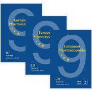 Livro - European Pharmacopeia 9ª Edição 2017 PRINT - Vols. 9.0, 9.1, 9.2