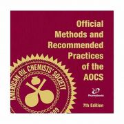 Livro - Official Methods And Recommended Practices of AOCS 7ª Edição 2017
