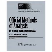 Livro - Official Methods of Analysis of AOAC INTERNATIONAL 21th Edition 2019
