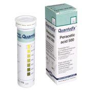 Quantofix Ácido Peracético - Caixa com 100 Tiras