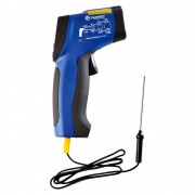 Termômetro Infravermelho Mira Laser -50+850ºC (Pirômetro) com Sonda Externa Tipo K Ref. ST-800