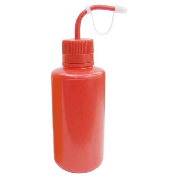 Pisseta em Polietileno Vermelha