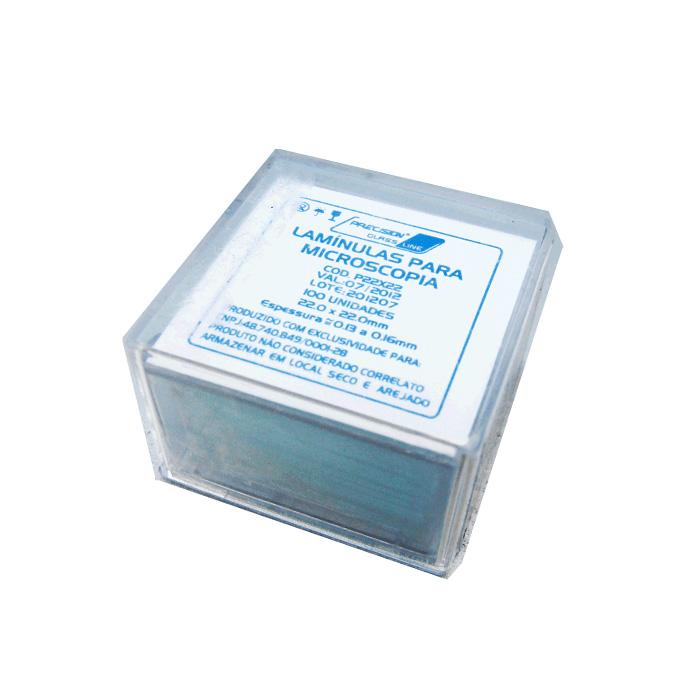 Lamínula para Microscopia