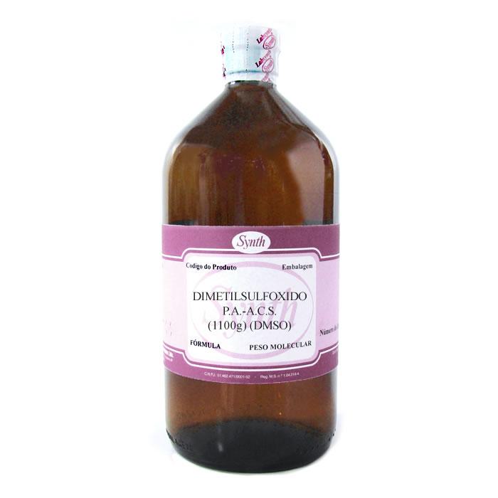 Dimetilsulfóxido P.A.-A.C.S. (1100g) (DMSO) - Embalagem 1000mL