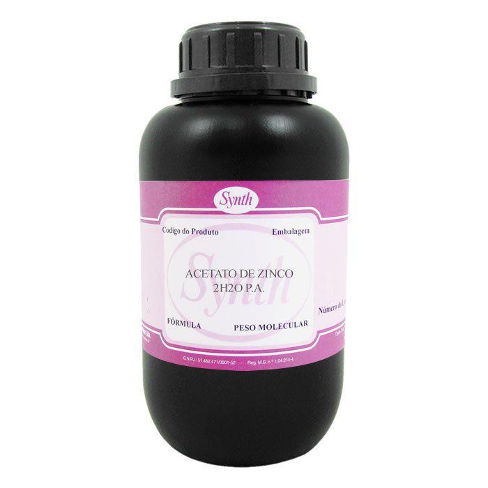 Acetato de Zinco  2H2O P.A.