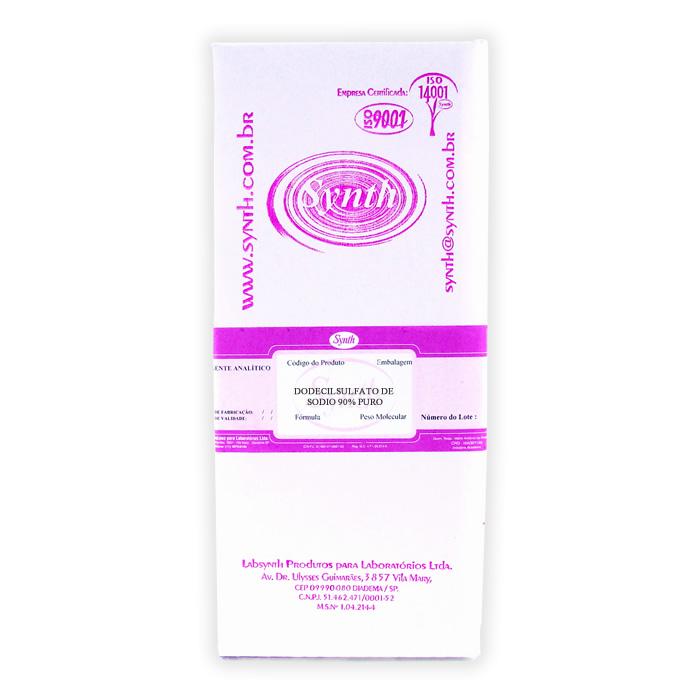 Dodecilsulfato de Sódio 90% PURO
