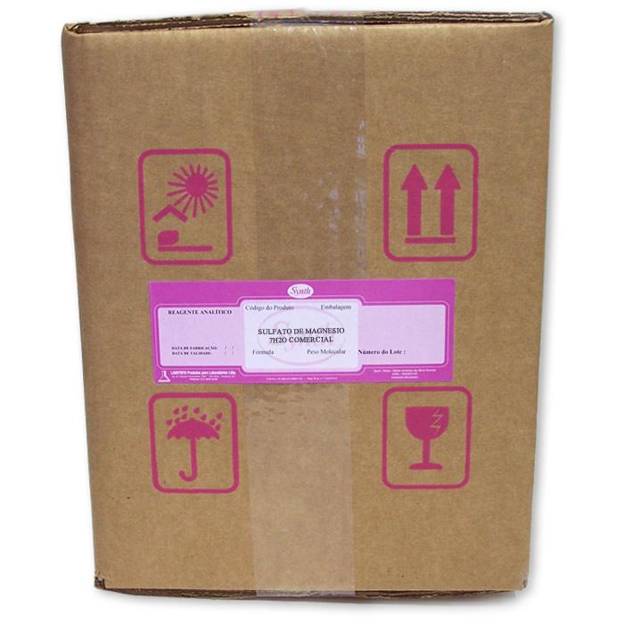 Sulfato de Magnésio 7H2O COMERCIAL - Embalagem 5000g