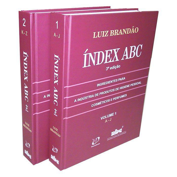Livro - Índex ABC 2009: Ingredientes para a Indústria de Produtos de Higiene Pessoal ,Cosméticos e Perfumes 3ª Edição