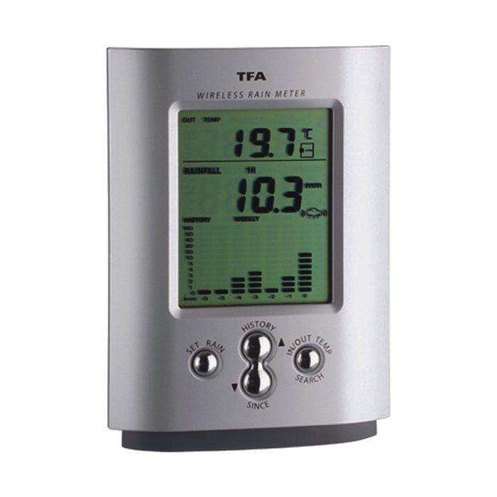 Pluviômetro Digital 0 a 9999mm
