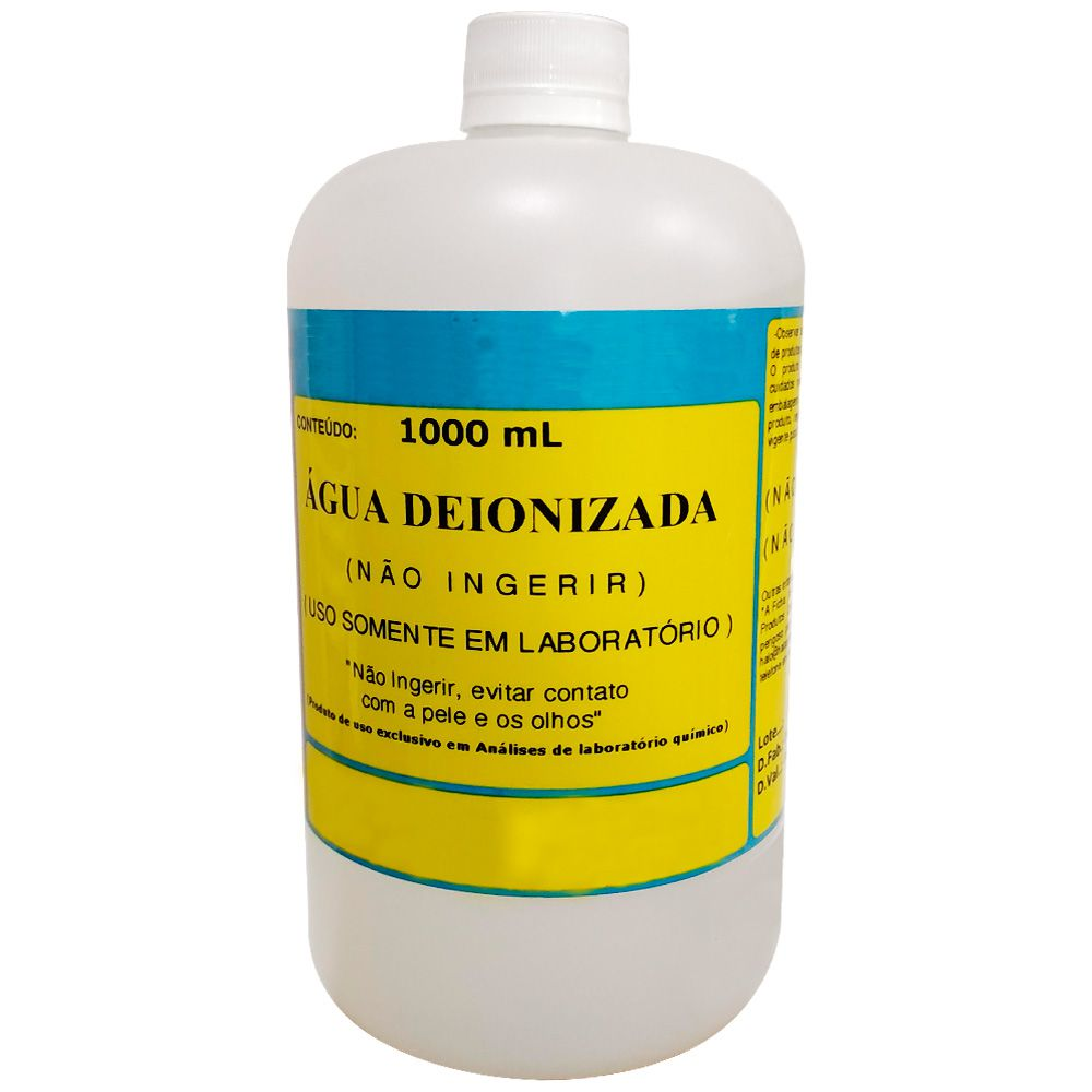 Água Deionizada (Desmineralizada)