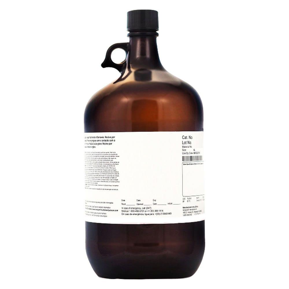 Álcool Metílico (Metanol) para HPLC (Gradiente) - Cromatografia Líquida - Galão 4 litros