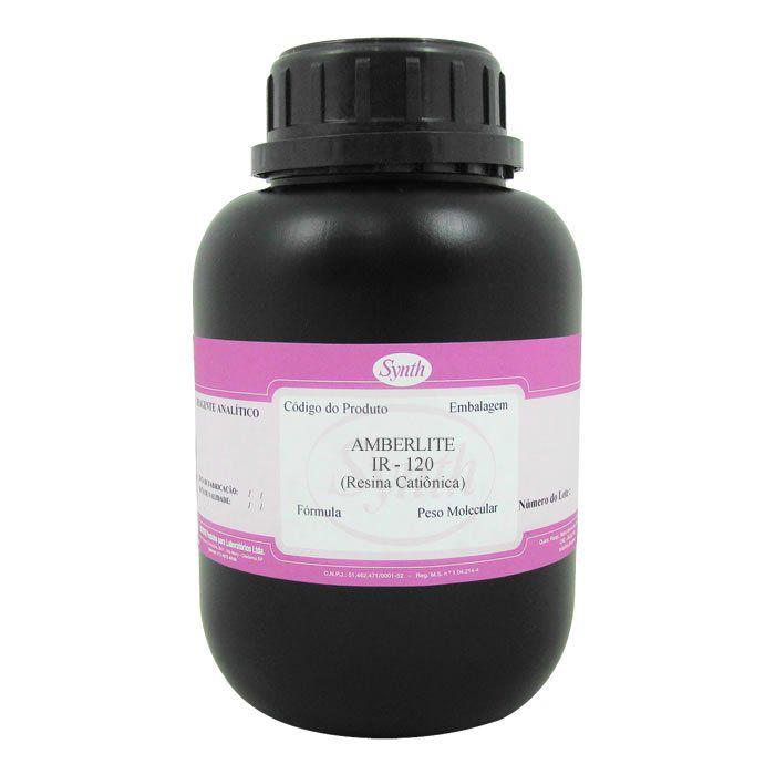 Amberlite IR – 120 (H) (Resina Catiônica)