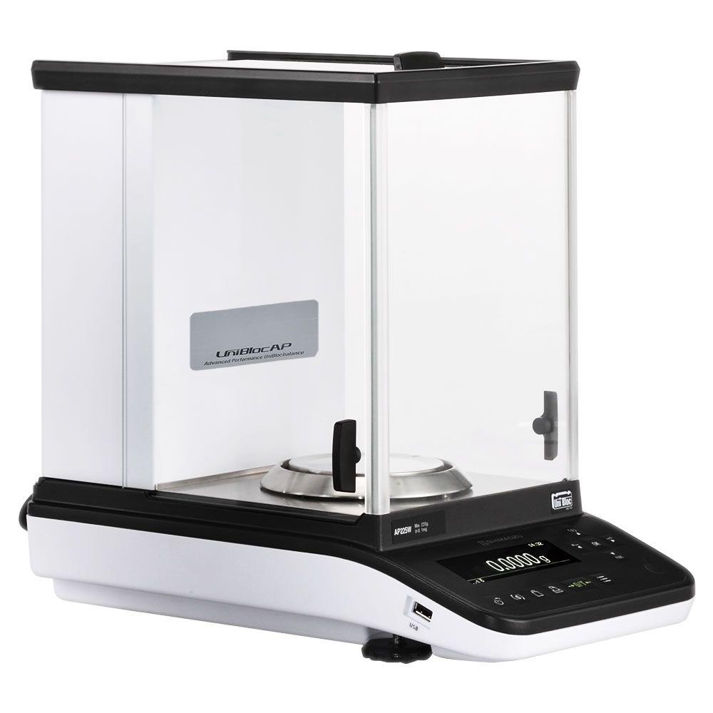 Balança Semi-Micro Calibração Interna 120/52g 0,01/0,1mg Ref. AP125WD