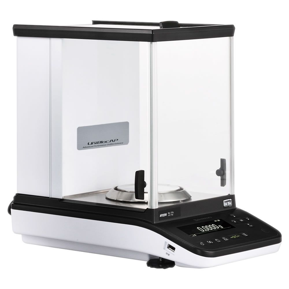 Balança Semi-Micro Calibração Interna 220/102g 0,01/0,1mg Ref. AP225WD