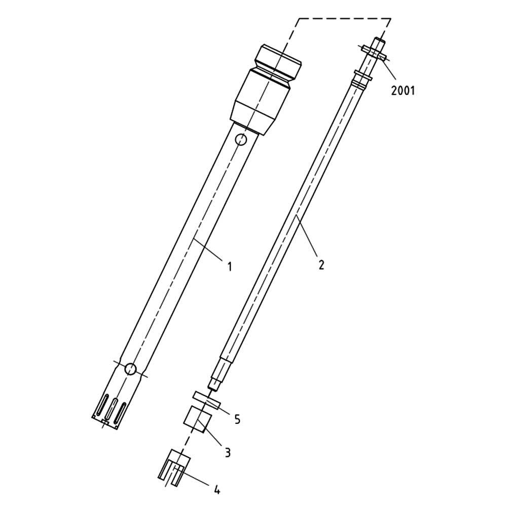 Bucha de Teflon para Elemento Dispersor S 10N-10G Ref. 3370600
