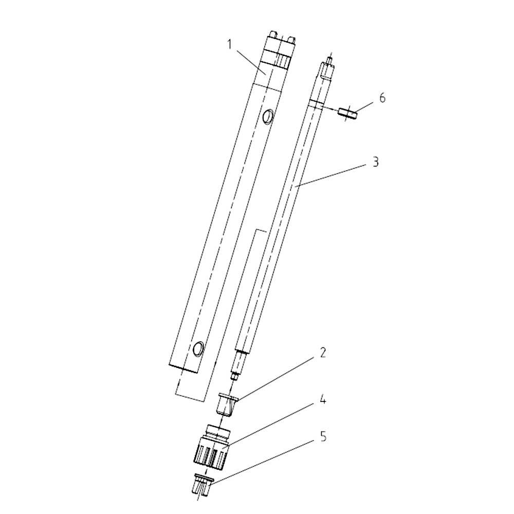 Bucha de Teflon para Elemento Dispersor S 18N-19G Ref. L004787