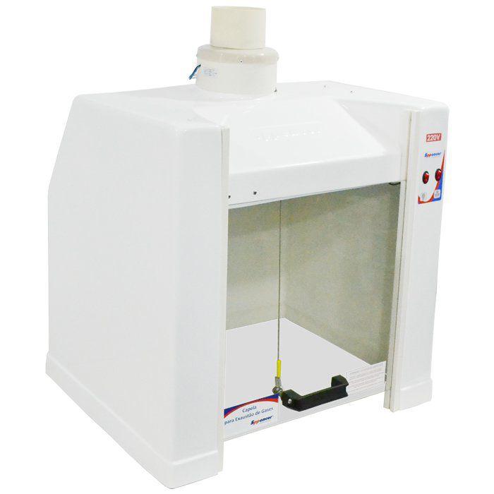 Capela para Exaustão de Gases 60x50x66cm 220V Ref. SP60N