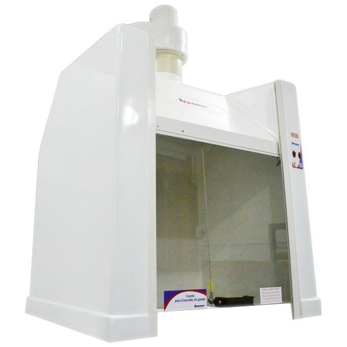 Capela para Exaustão de Gases 80x60x90cm 220V Ref. SP80N