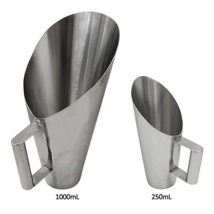 Concha em Aço Inox 304 Tipo Cereais (Polimento Sanitário)